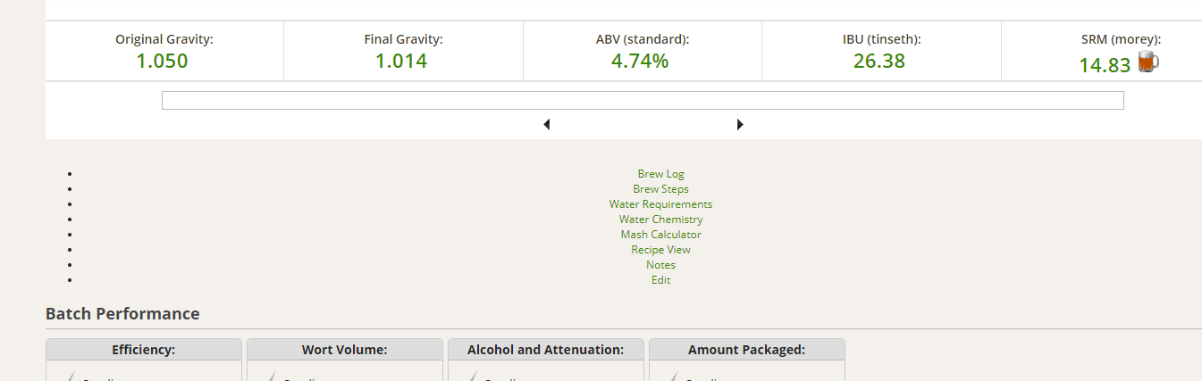 Brew session rendering wrong? | Make Beer at Home Forums