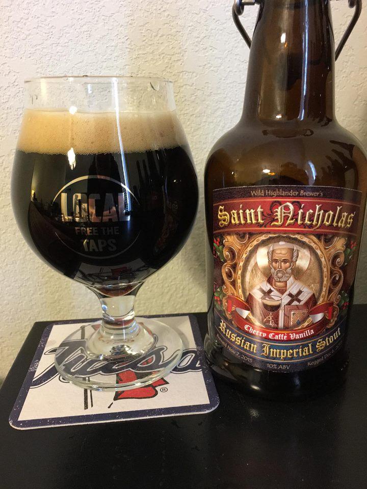 Saint Nicholas Russian Imperial Stout Batch 1 Partial