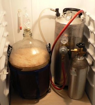 kegging beer