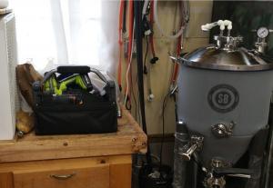 temper controller on spike fermenter