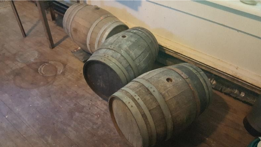 Three Sour Beer Barrels